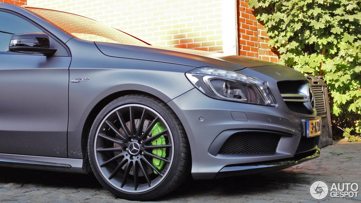 AMG fanatic with a special taste has a new toy