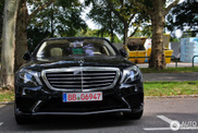 Black, business like and sinister; that's what this S 63 AMG is like