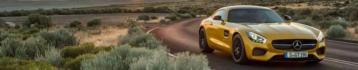 Mũi Tên Vàng: Mercedes AMG GT