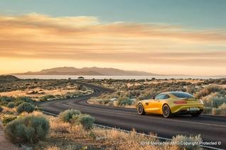 Bloedsnel en knalgeel: Mercedes AMG GT