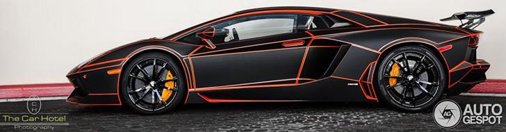 2205 Lamborghini Aventador Black Matt Tronjpg Super Lamborghini