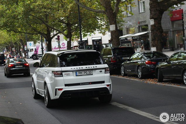 Gespot: Mansory Range Rover Sport