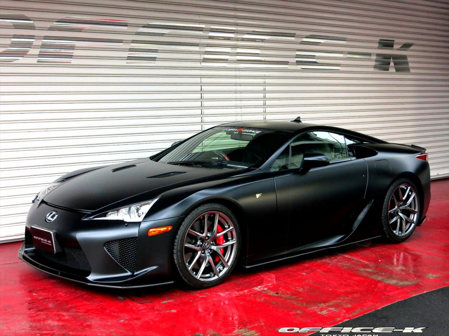 office k makes the lexus lfa even more popular. Black Bedroom Furniture Sets. Home Design Ideas