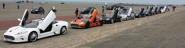 Unique Spyker meeting in the Netherlands