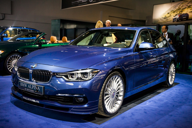 IAA 2015: Alpina B3 Facelift