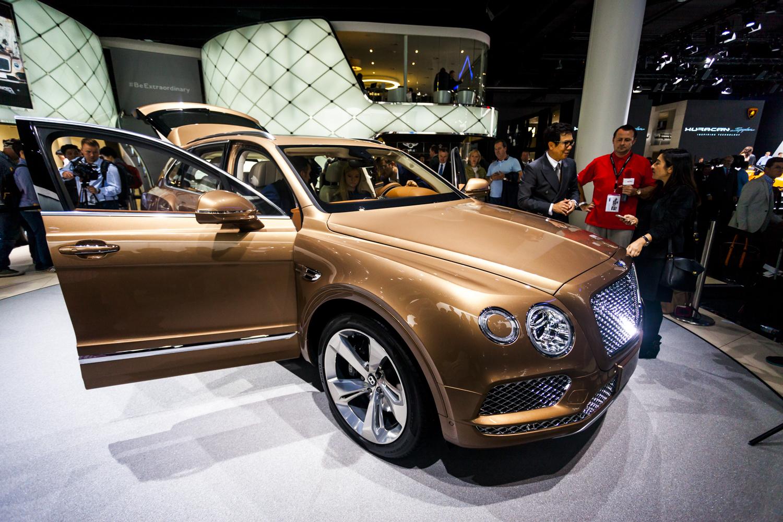 Iaa 2015 Bentley Bentayga