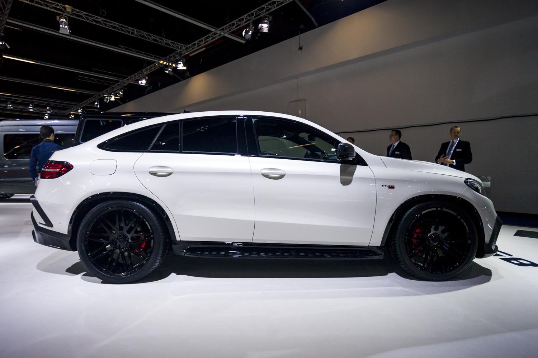 Iaa 2015 Brabus Gle Coupe 850