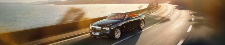 Une limousine royale: la Rolls-Royce Dawn
