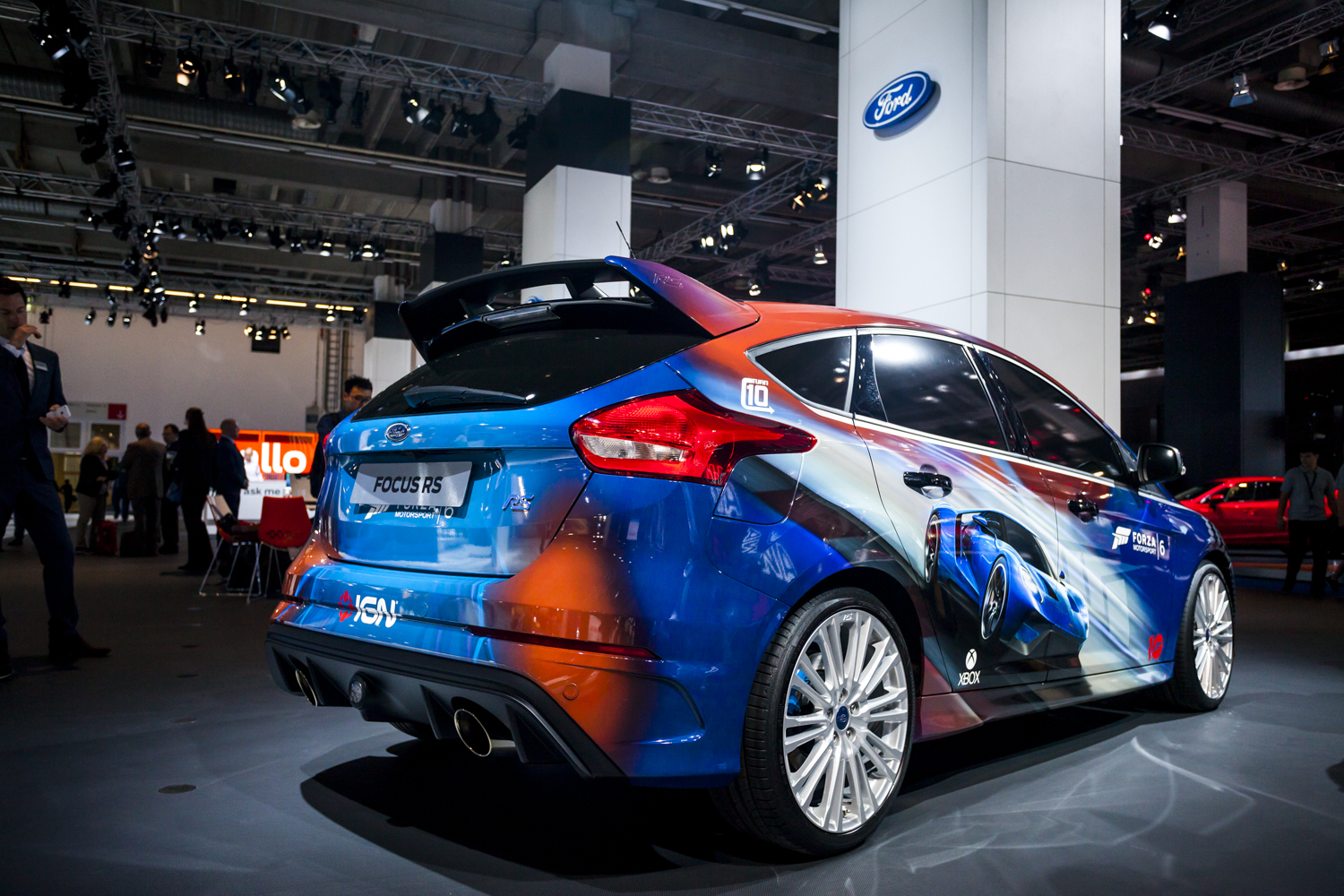 iaa 2015 ford focus rs. Black Bedroom Furniture Sets. Home Design Ideas