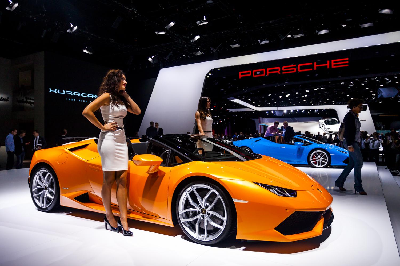 Iaa 2015 Lamborghini Hurac 225 N Lp610 4 Spyder