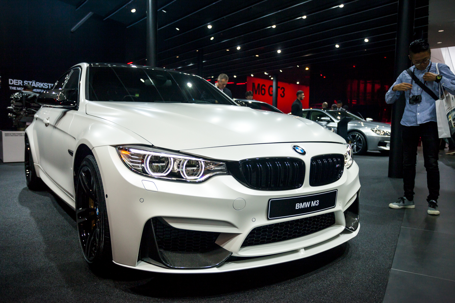 iaa 2015 bmw m3 facelift. Black Bedroom Furniture Sets. Home Design Ideas