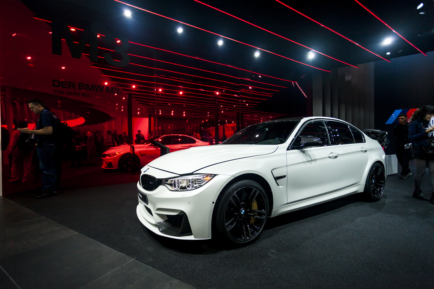 2015 M3 For Sale >> IAA 2015: BMW M3 Facelift