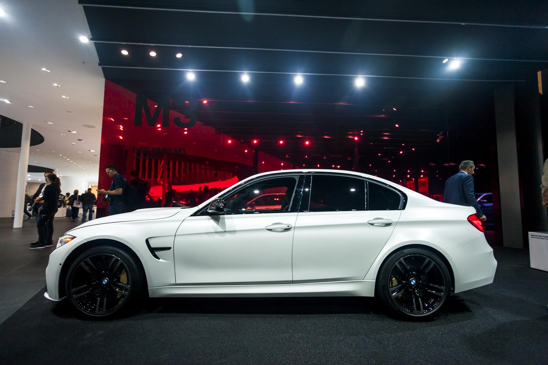 Iaa 2015 Bmw M3 Facelift