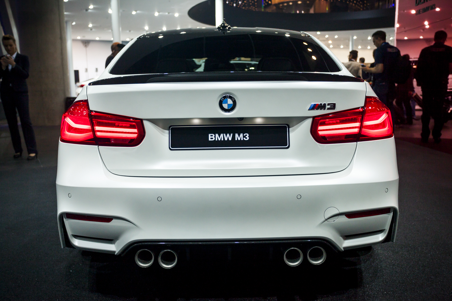 Iaa 2015 Bmw M3 Facelift