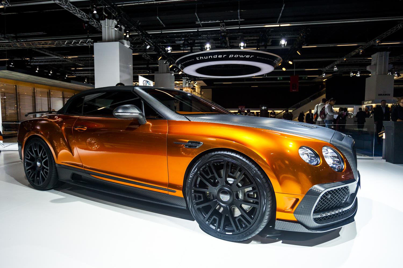 Iaa 2015 Mansory Bentley Continental Gtc