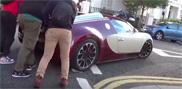 Vidéo: Une Bugatti refuse de démarrer à Londres