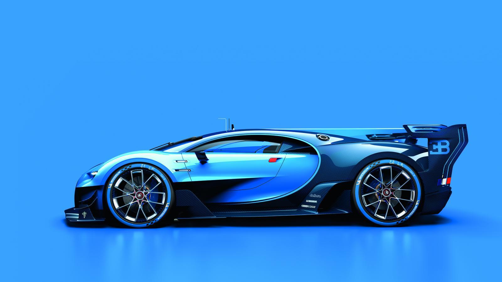 Is The Bugatti Vision Gran Turismo The Herald Of The Chiron