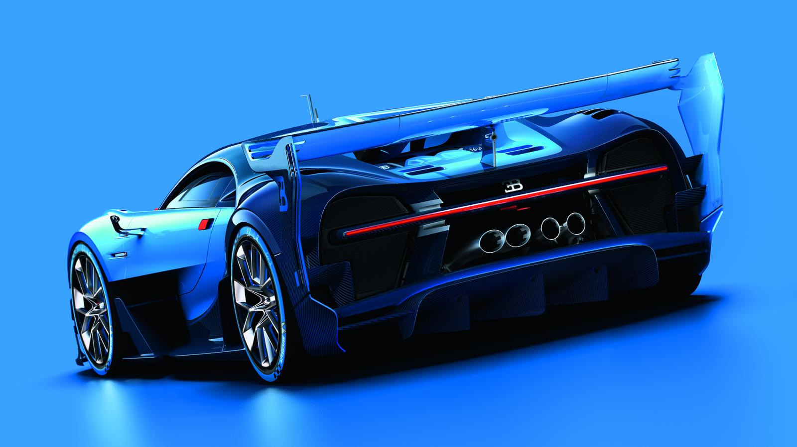 is the bugatti vision gran turismo the herald of the chiron. Black Bedroom Furniture Sets. Home Design Ideas
