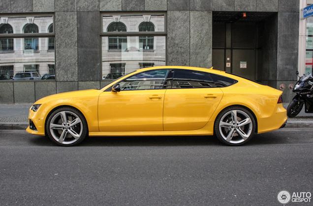 Vegas Yellow op een Audi RS7? Ja graag!
