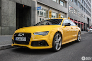 Vegas Yellow Audi RS7? Yes please!