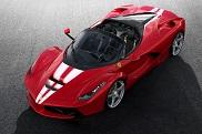 This is the final Ferrari LaFerrari Aperta