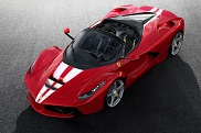 This is the final Ferrari LaFerrari Aperta