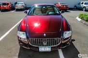 Gespot: Maserati Quattroporte S met een prachtige kleur