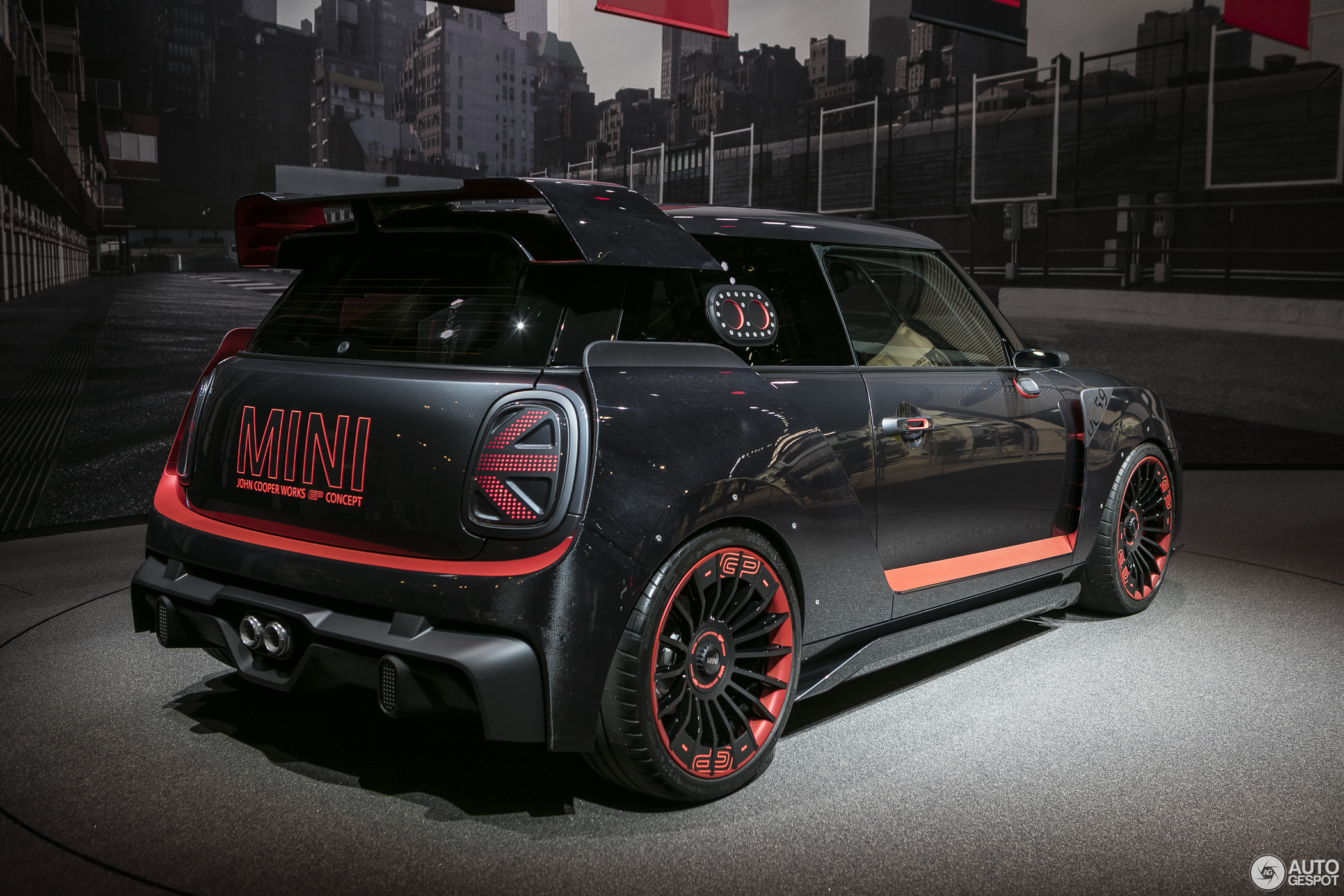 iaa 2017 mini john cooper works gp concept. Black Bedroom Furniture Sets. Home Design Ideas
