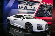 2017 法兰克福国际车展:奥迪 R8 RWS 后驱版