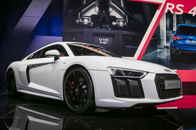 IAA 2017: Audi R8 RWS