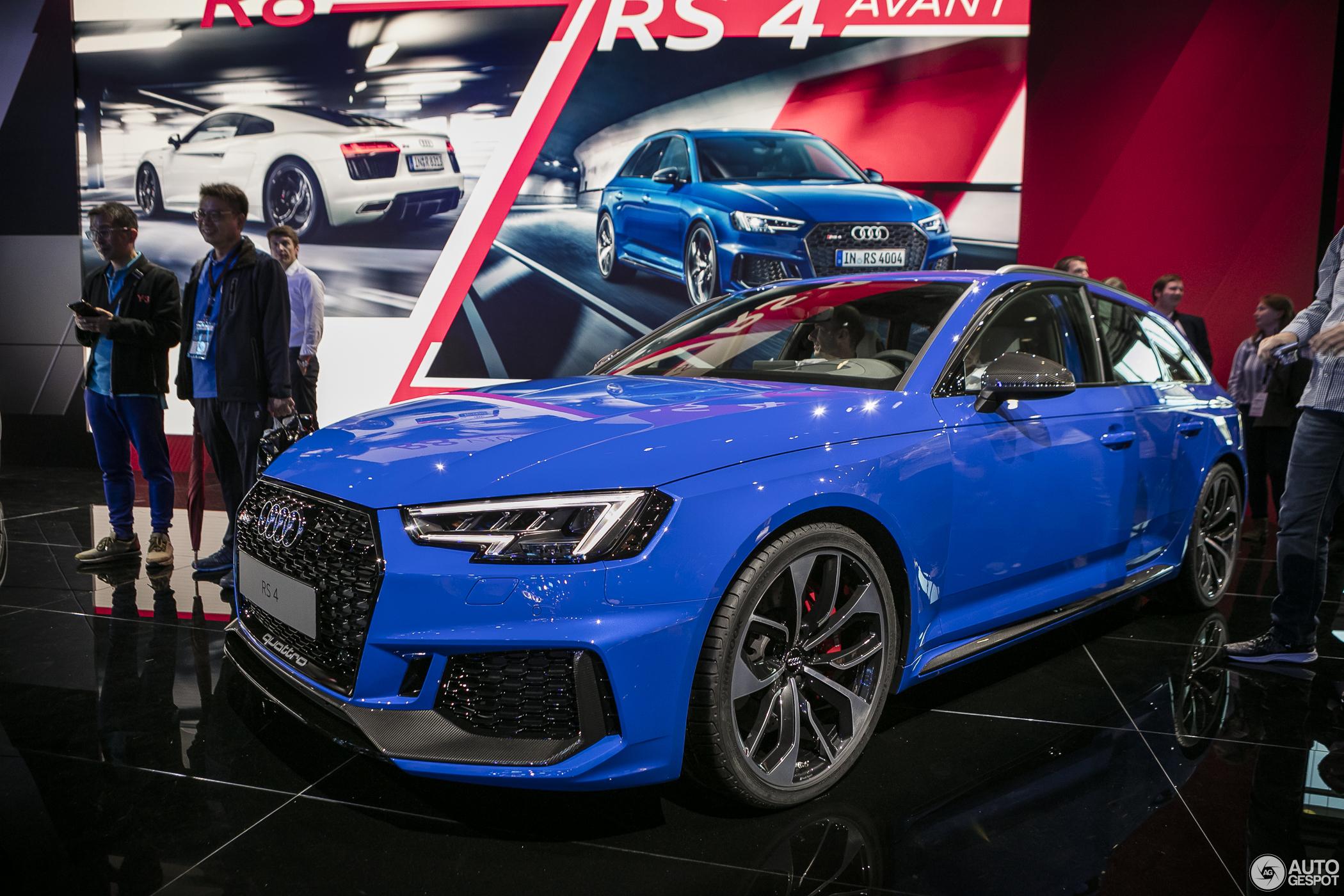IAA 2017: Audi RS4 Avant