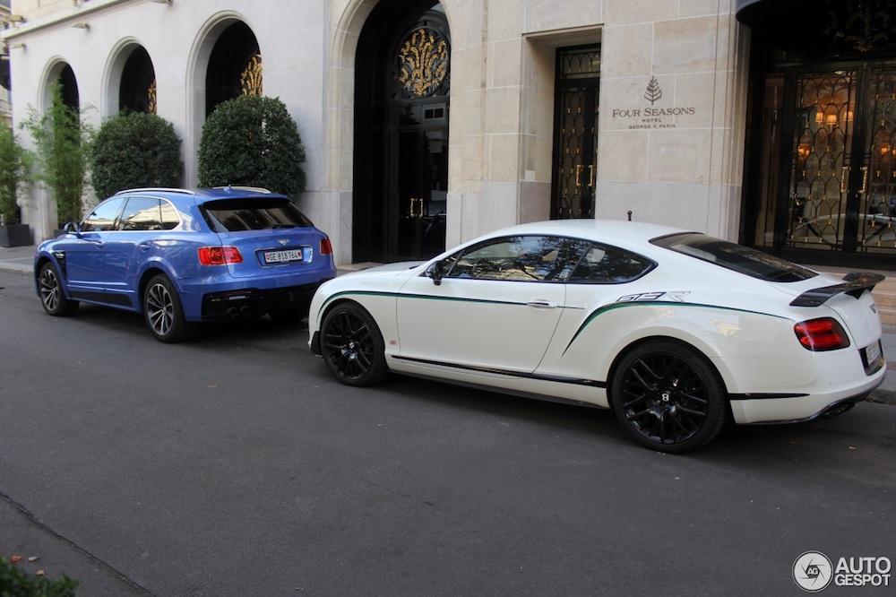 Parijs is het decor van deze dikke Bentley combo!