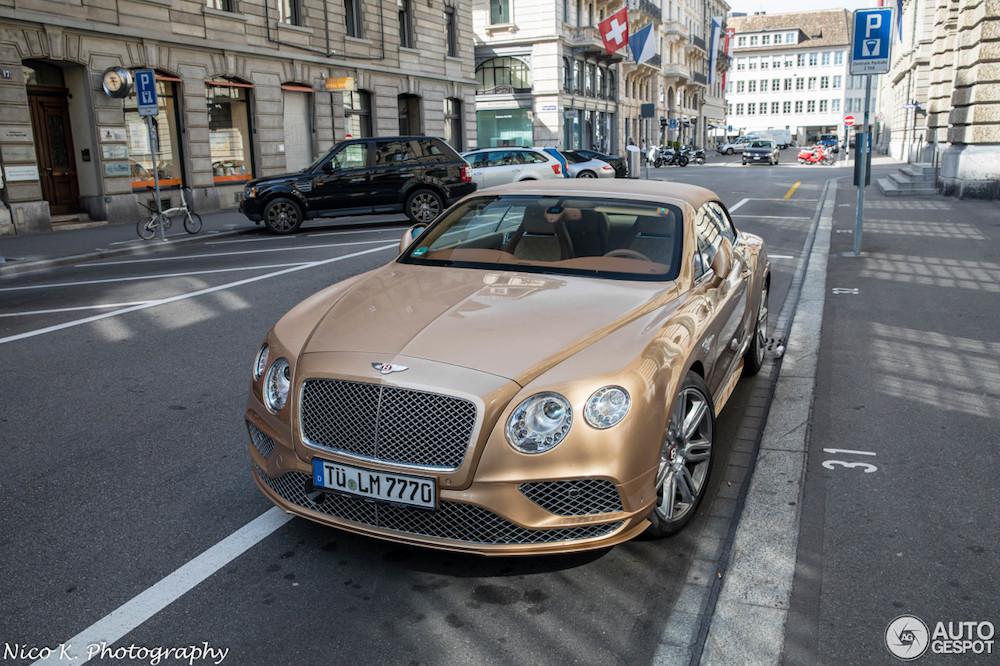 Bentley op haar best? Continental Timeless Series