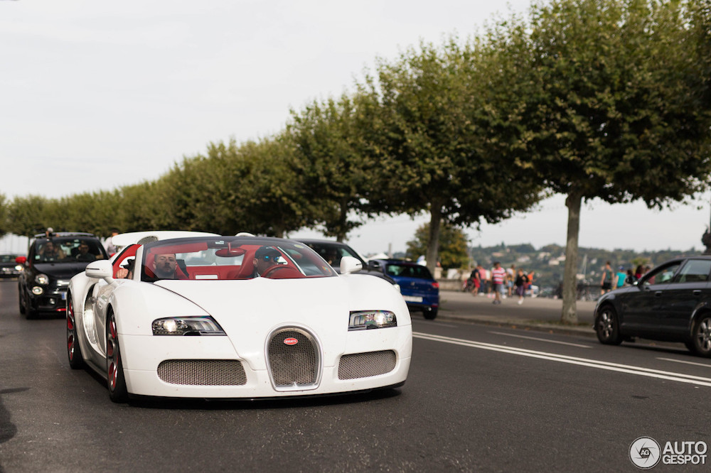 One of one: Bugatti Veyron Grand Sport Wei Long
