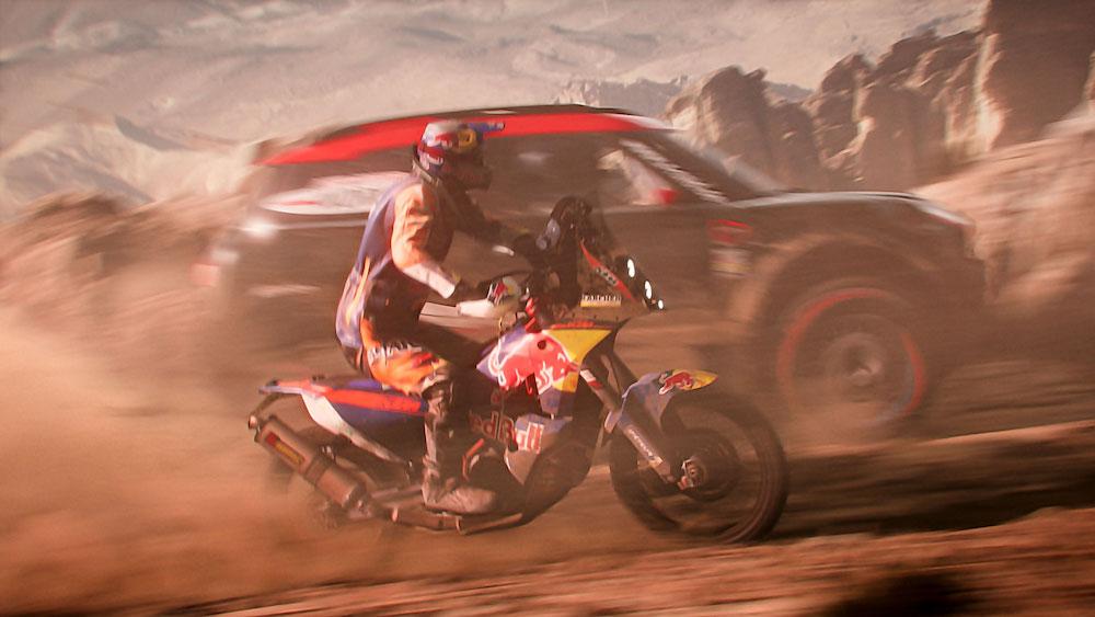 Dakar 2018: de uitputtingsslag in een videogame