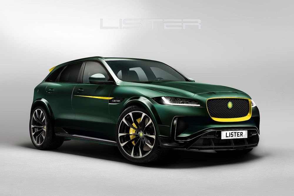 Gek, gekker, gekst? Jaguar F-Pace door Lister krijgt 670 pk!
