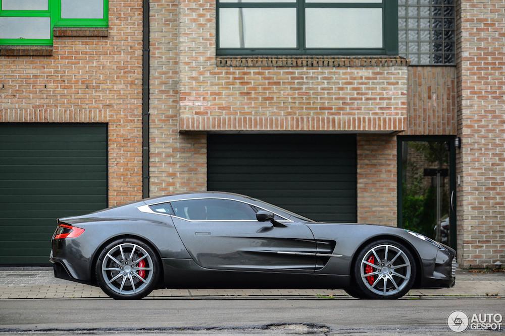 Topspot: Aston Martin One-77 in Kortrijk