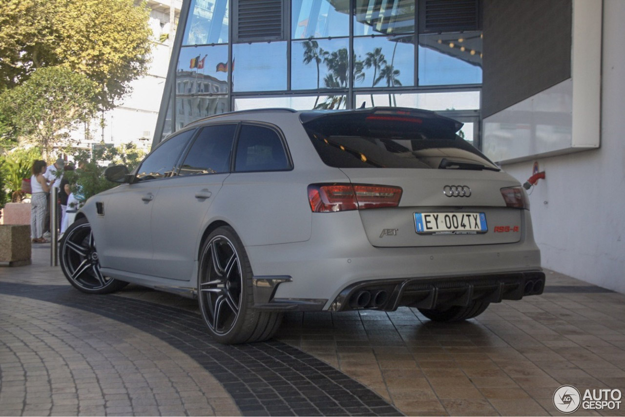 Audi ABT RS6 R Avant staat nog in de primer
