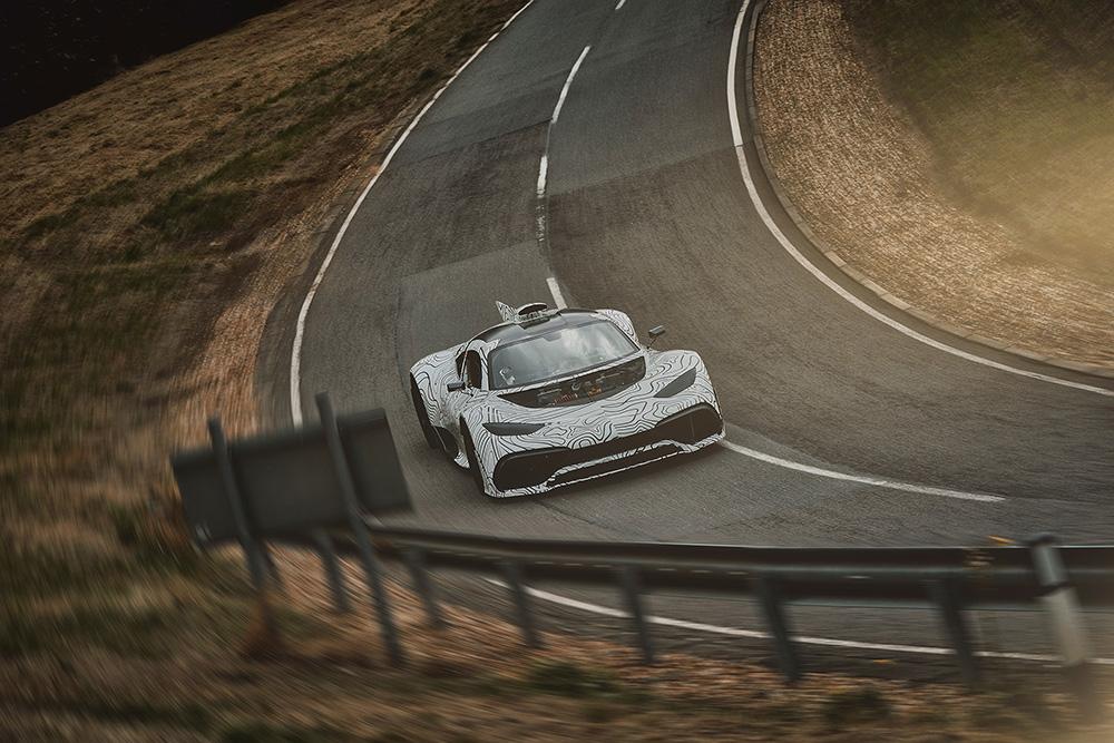 原型车测试:梅塞德斯-AMG Project ONE
