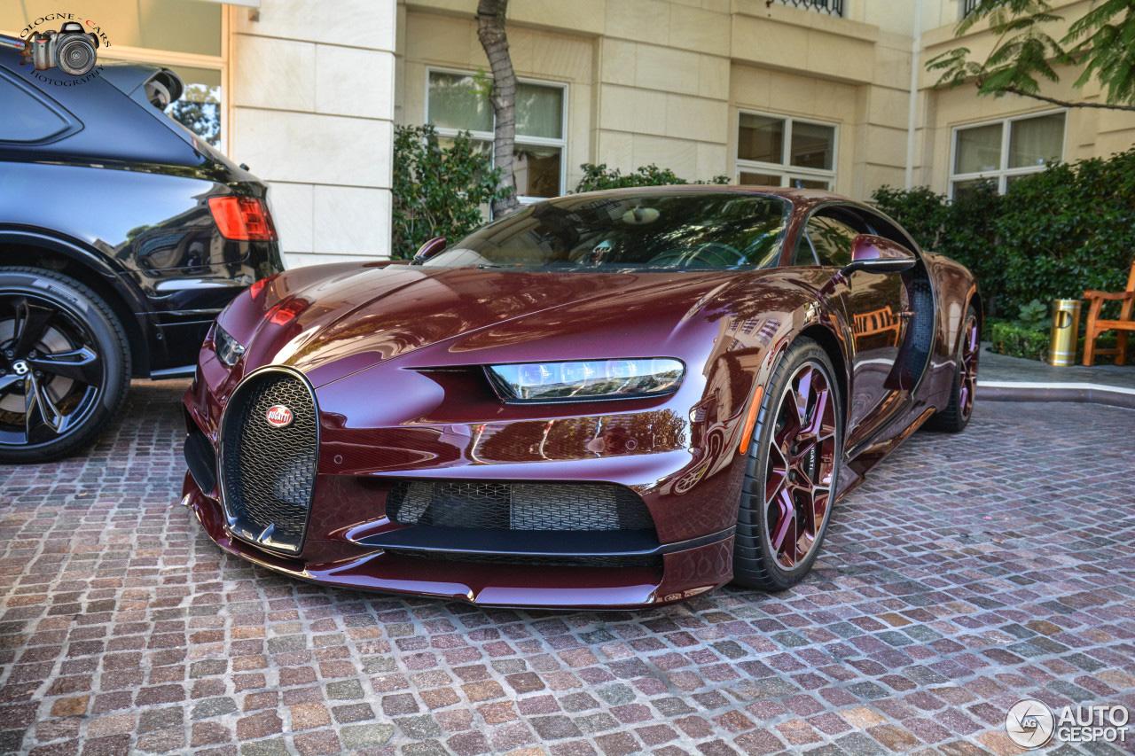 Bugatti Chiron leukt Beverly Hills op