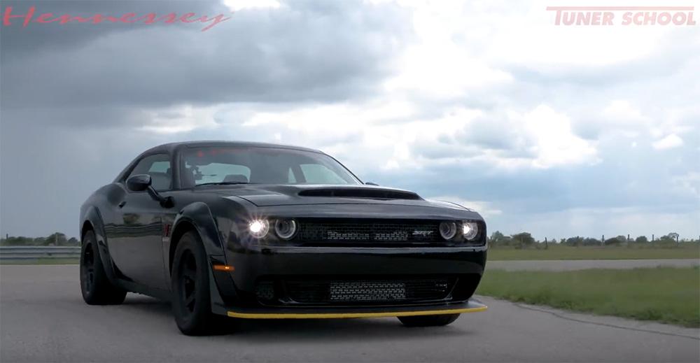 Filmpje: Dodge Demon met 1.200 pk wordt aan de tand gevoeld