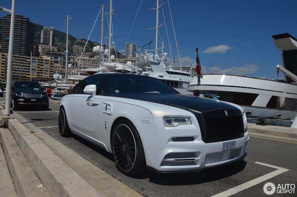 Rolls-Royce Mansory Wraith is toonbeeld van het nieuwe Monaco