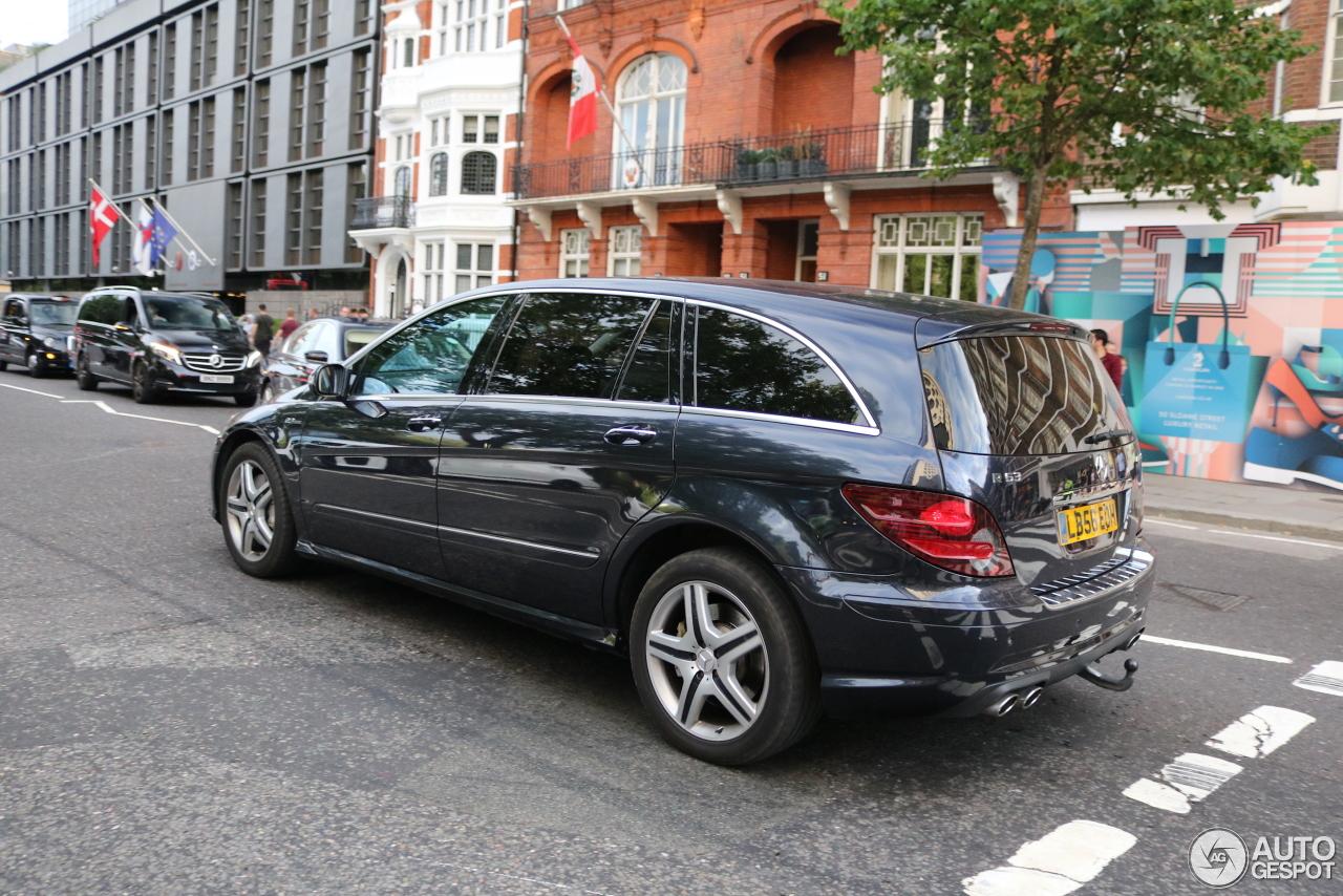 Exclusieve gezinsauto, Mercedes R63 AMG