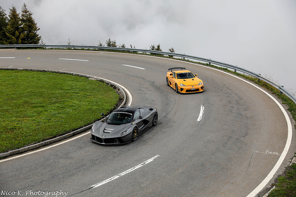 Event: Supercar Owners Circle in Andermatt