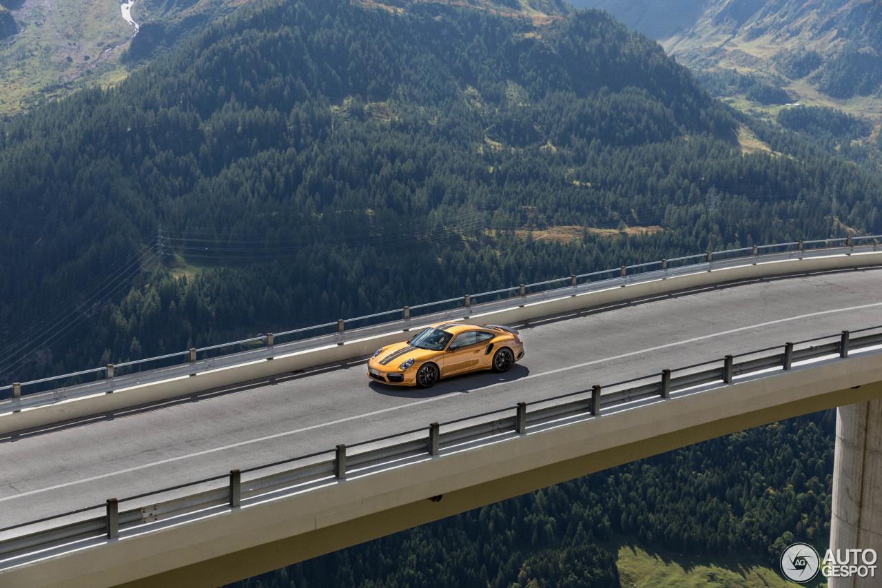 Porsche Turbo S Exclusive Series mag nog even van de Alpen genieten