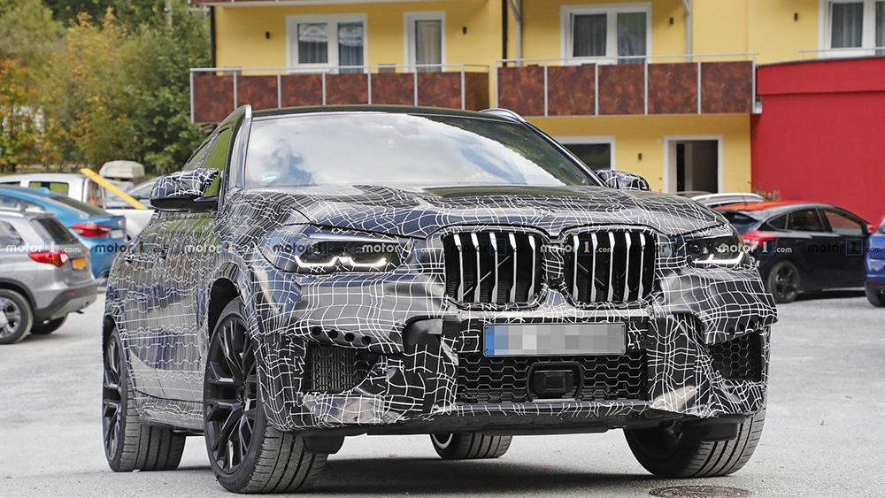 BMW is begonnen aan de nieuwe X6 M