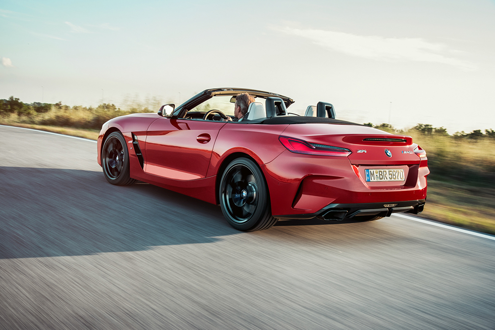 Movie: BMW Z4 M40i faster over the Ring than the BMW M2