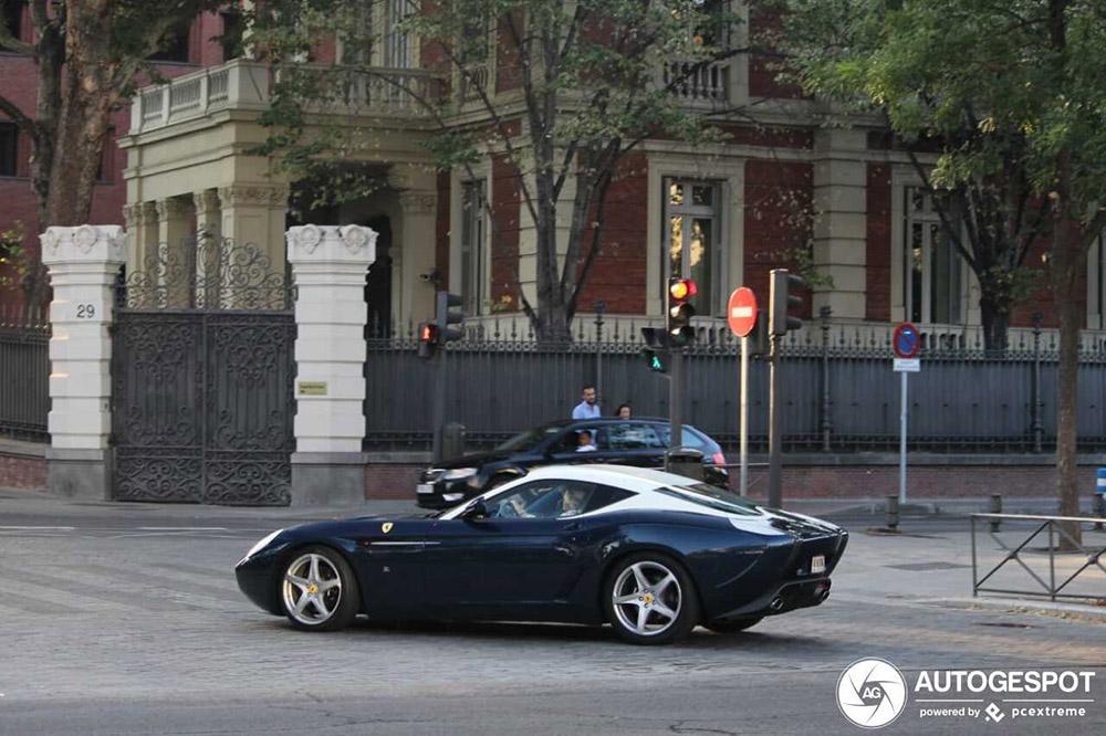 Unieke creatie gespot: Ferrari 599 GTZ Nibbio Zagato