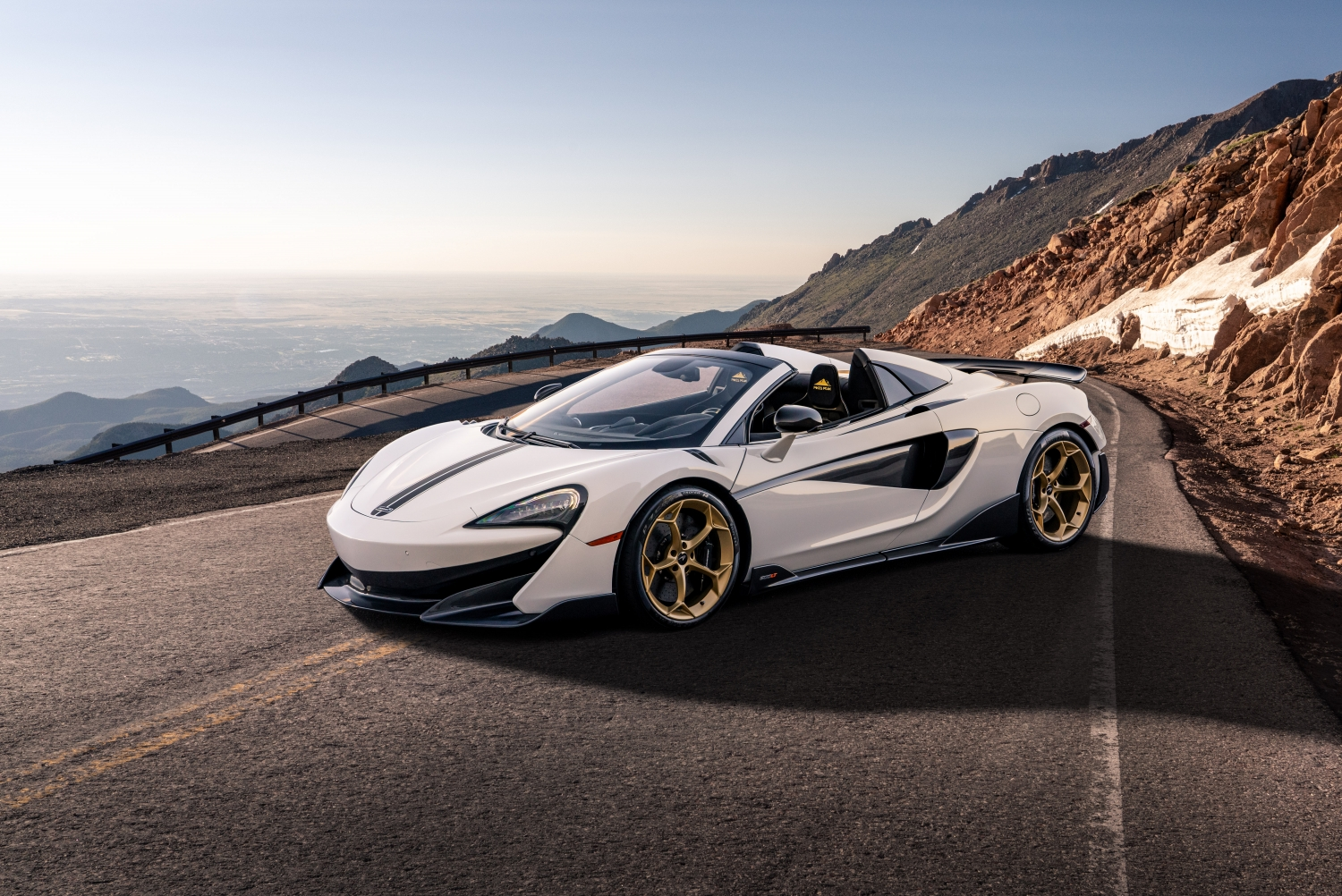 Six 'Pikes Peak Collection' of 600LT Spiders for McLaren Denver