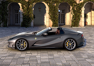 Ferrari 812 GTS: de terugkeer van de V12 spider